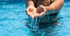 آزمایش آب استخر شنا